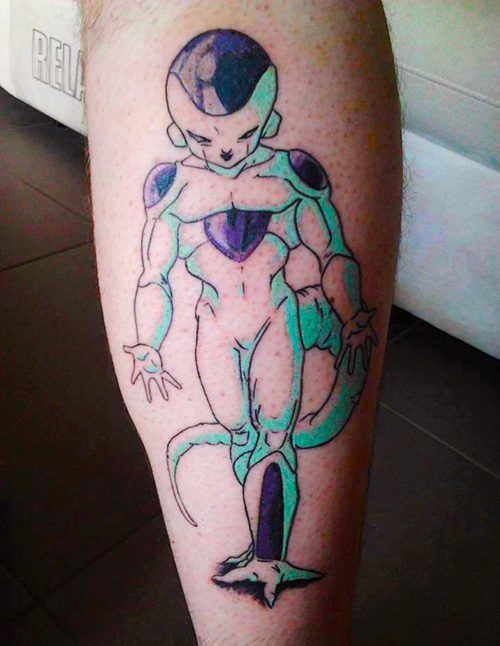 perfect freeza dragon ball z tattoo