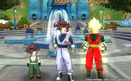 dragon ball online dbo dbz gameplay