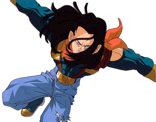 Android 17 Dragonball Z; Dragonball GT Images