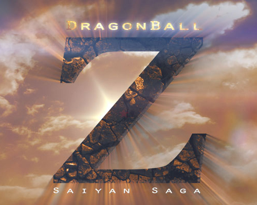 Dragon Ball Z Saiyan Saga Movie Poster