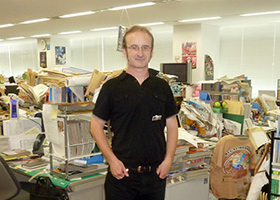 olivier richard dragon ball shueisha office