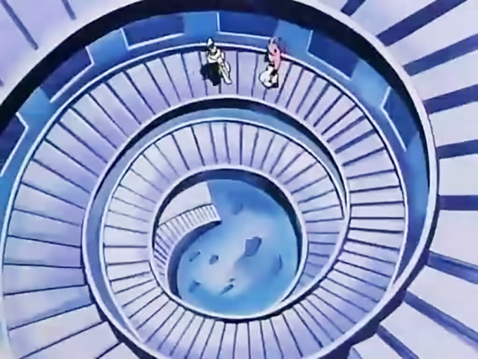 stairway to room of spirit and time dbz