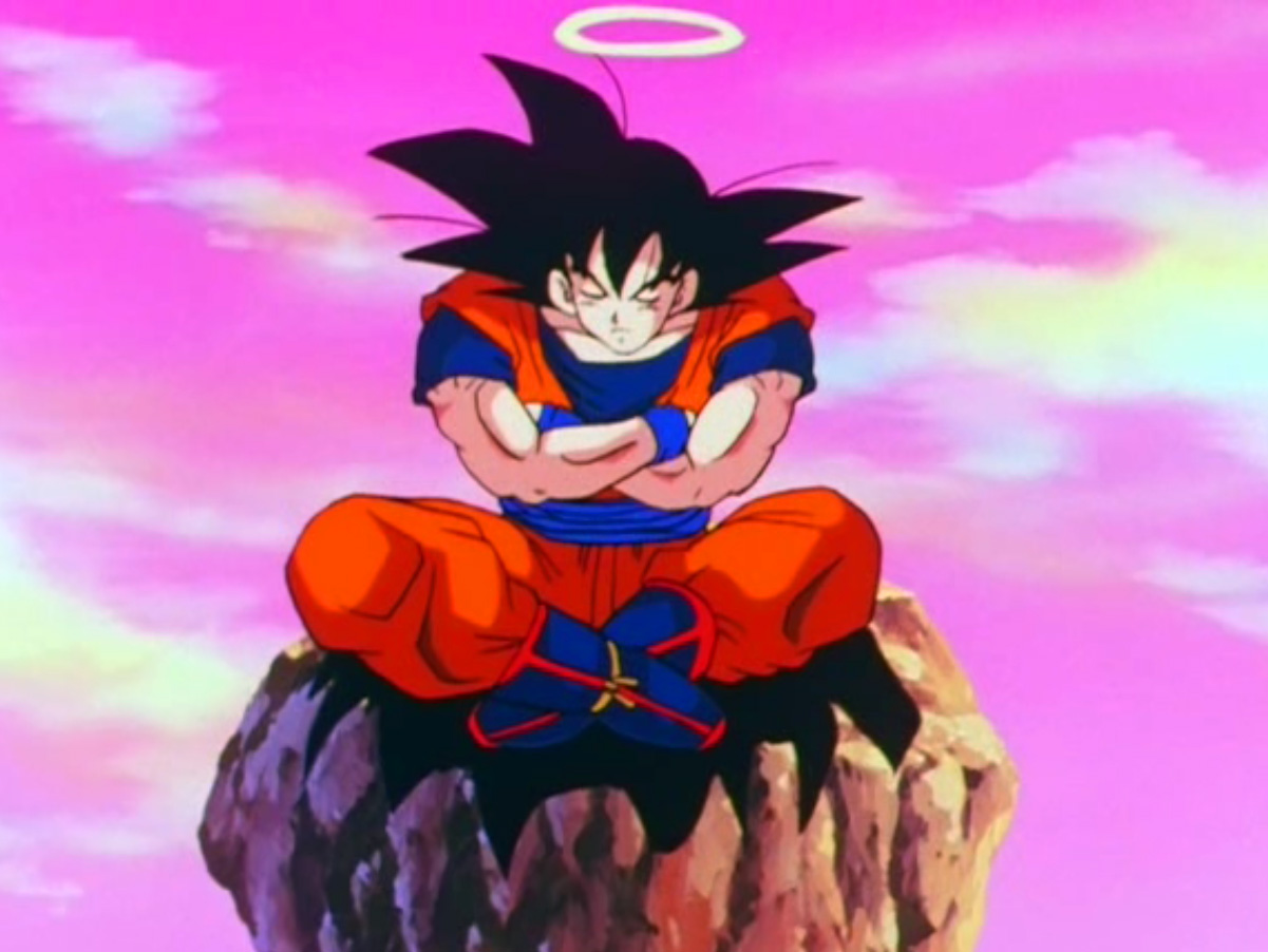 The Lotus Position in Anime And Manga | The Dao of Dragon Ball