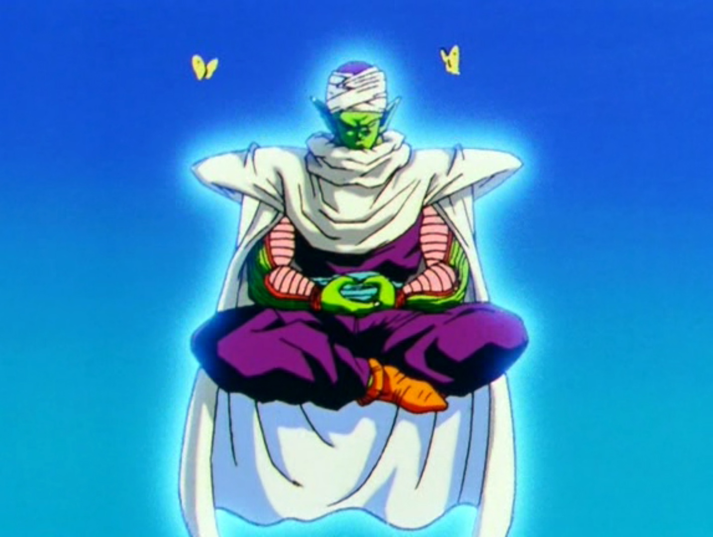Piccolo Meditating