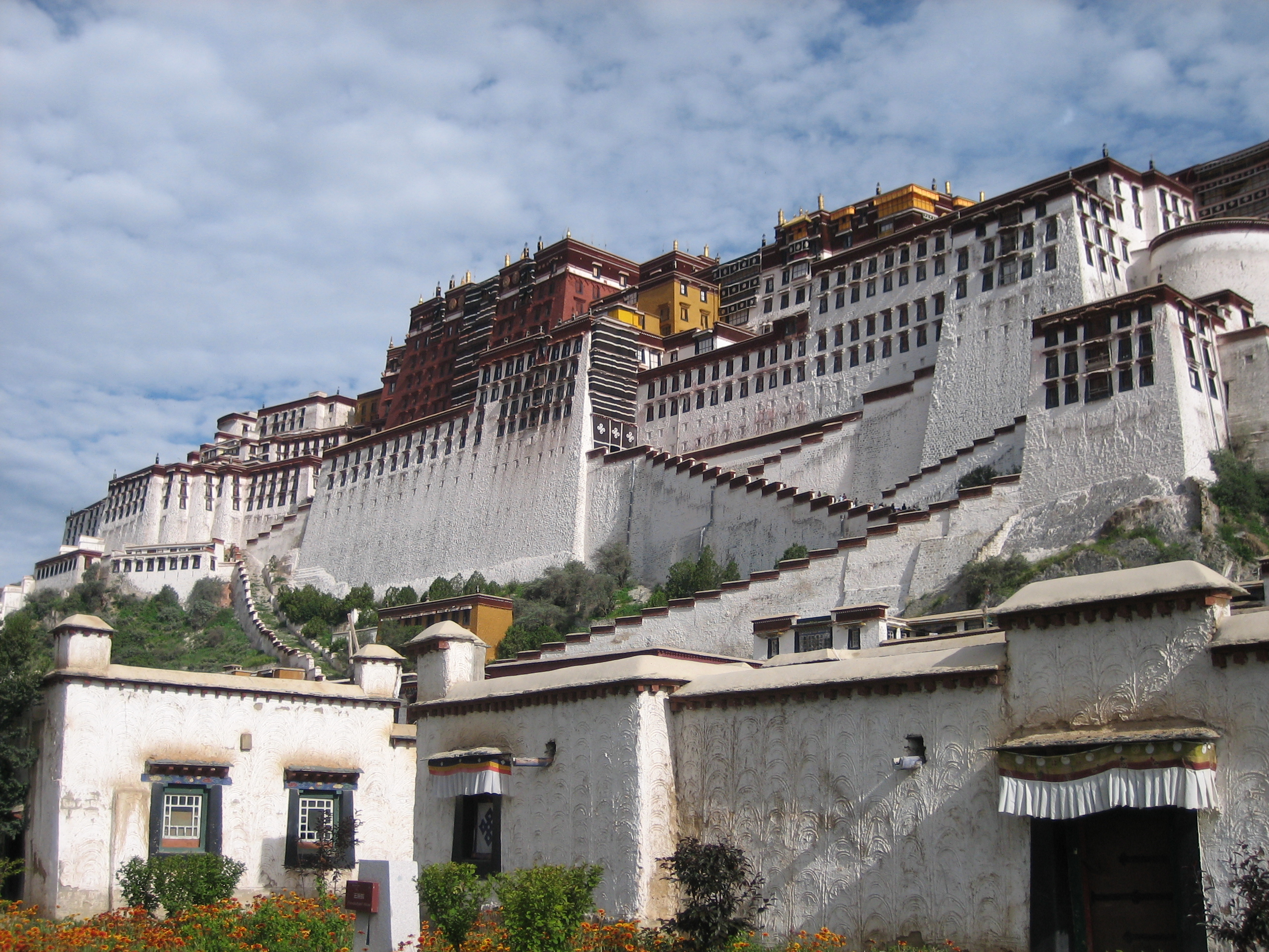 Potala Palace of Lhasa Tibet
