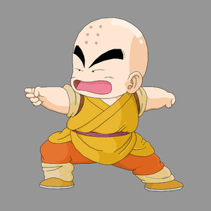 young krillin
