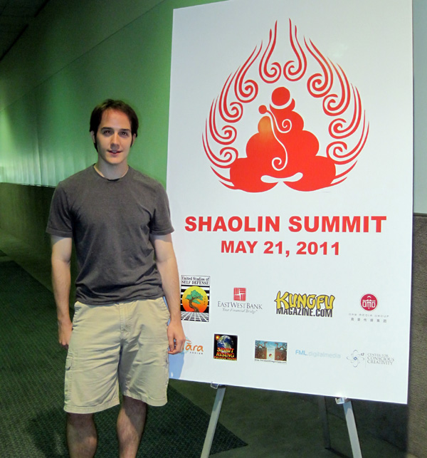 Derek Padula at the Shaolin Summit 2011