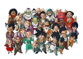 dragon ball gt group anime expo