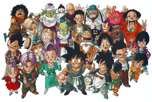 dragon ball gt group