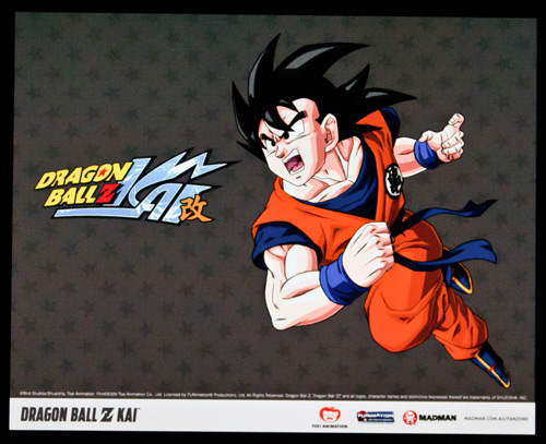 Dragon Ball Z Kai at the FUNimation booth