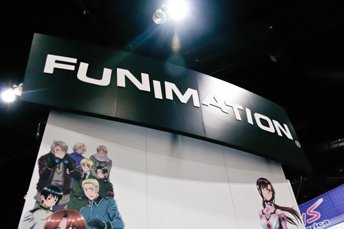 Anime Expo 2011 Funimation Booth Sign