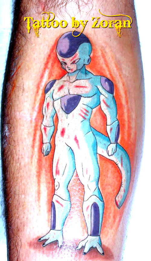 freeza tattoo dragon ball z kai