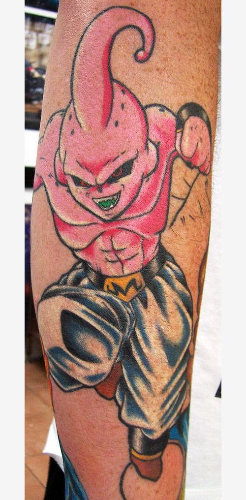 dragon ball majin buu dbzkai