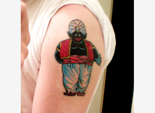 dragon ball mister popo tattoo dragonballz