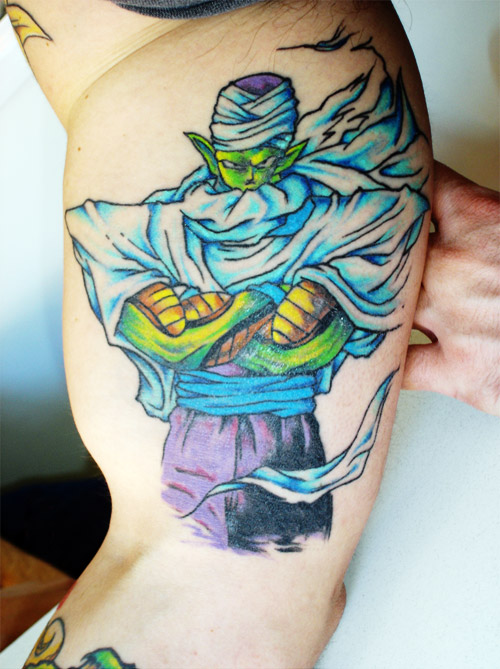 dragon ball piccolo tattoo dbz