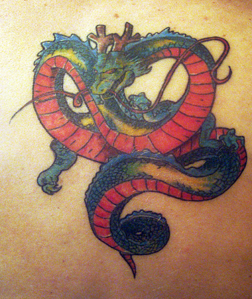 shenlong dragon ball tattoo