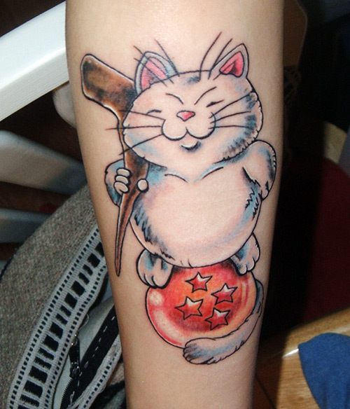 korin 4 star dragon ball tattoo