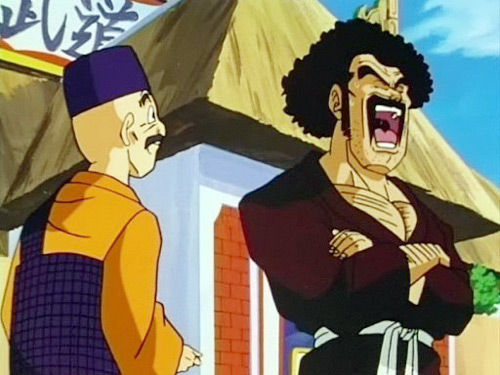 mr satan laughs dbz