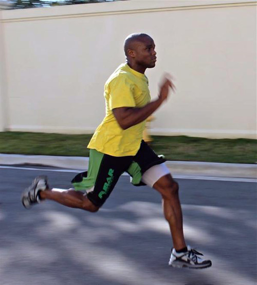 marcus brimage mma training running