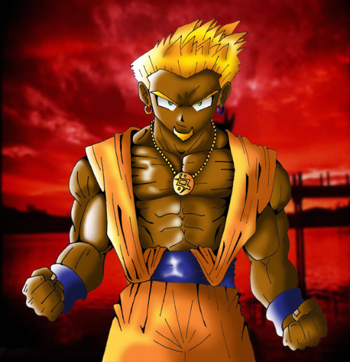 black goku super saiyan dablackgoku dragon ball