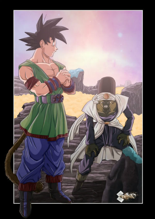 dragon ball af fan art by diabolumb