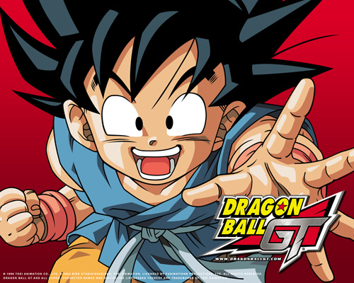 dragon ball gt kid goku