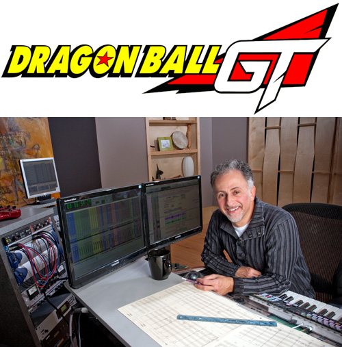 dragon ball gt music composer mark menza studio gt logo