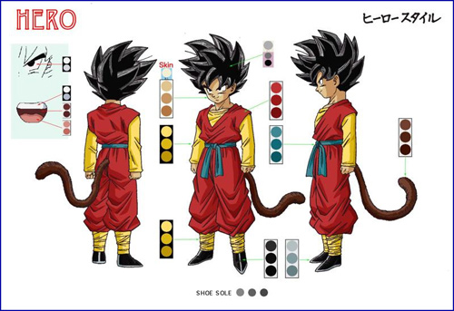 dragon ball heroes hero character dbz