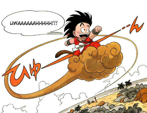 goku kinto un dragon ball manga dbz