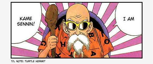 kame sennin introduction master roshi dragon ball z