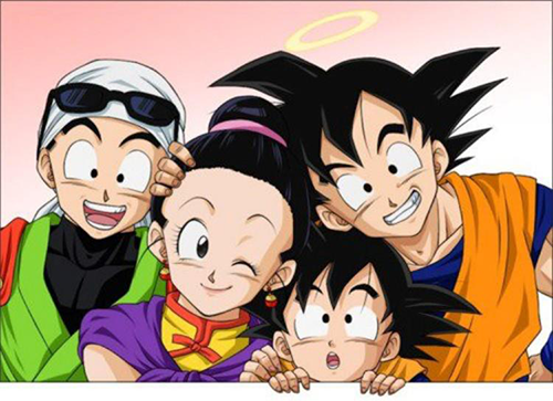 dbz goku family advertise dao of dragon ball