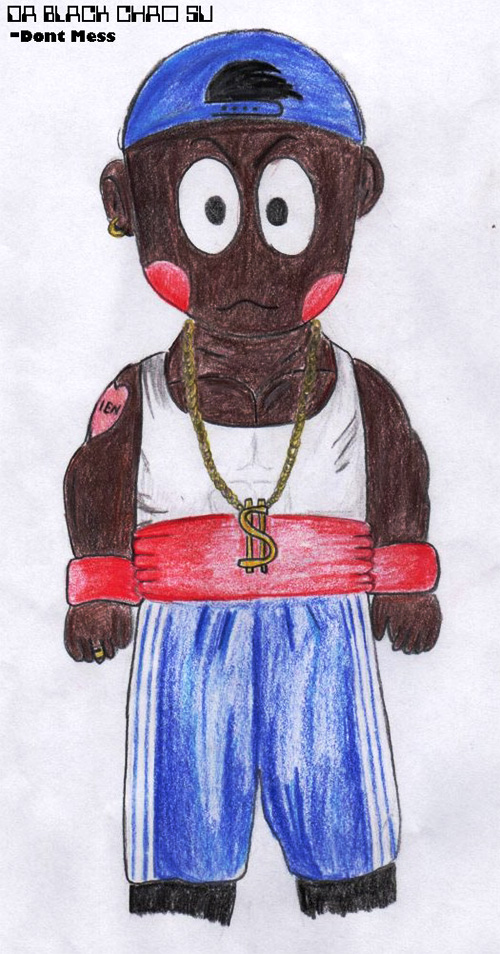 black chaozu dragon ball z