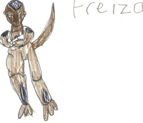 black freeza frieza dragon ball z