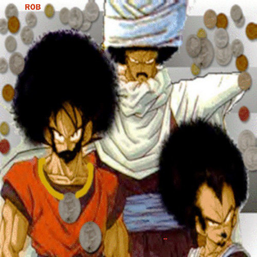 black goku afro black vegeta black piccolo