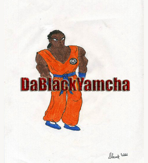 black yamcha dragon ball z