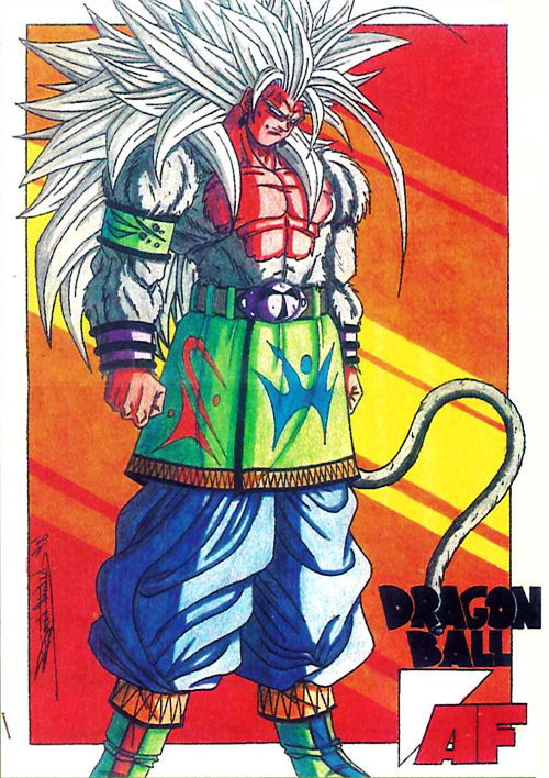 dragon ball af hobby magazine super saiyan 5 goku