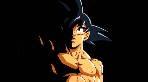 goku dragon ball z light and darkness