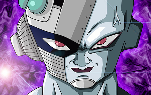 mecha freeza dragon ball z science cyborg