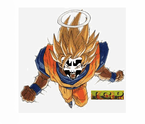 super saiyan goku insane clown posse icp dragon ball z