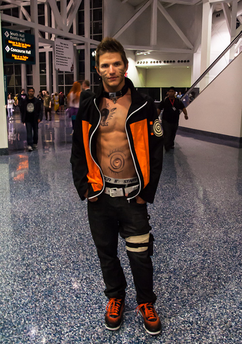 naruto cosplay anime expo ben