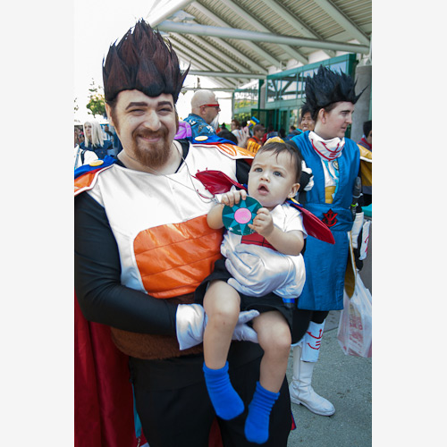 baby vegeta dragon ball cosplay anime expo