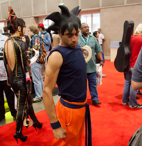 dragon ball cosplay goku FUNimation anime expo 2012