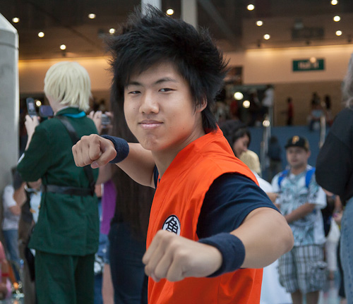 dragon ball cosplay anime expo goku