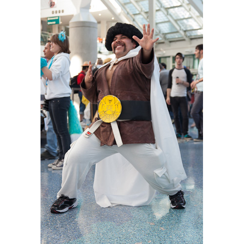 dragon ball cosplay mr satan anime expo dbz
