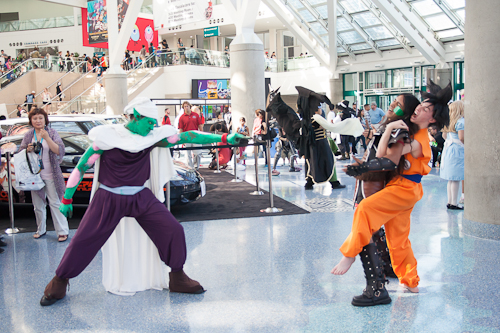 piccolo kills goku raditz dragon ball cosplay