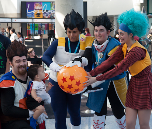 dbz cosplay baby vegeta briefs family bulma