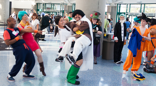 videl mr satan dragon ball cosplay anime expo
