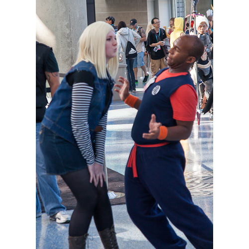 krillin love android 18 dbz cosplay