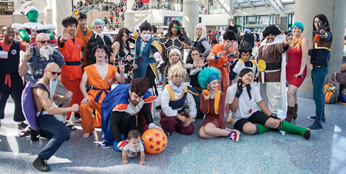Anime Cosplay Group
