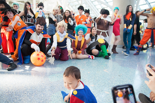 baby vegeta dragon ball cosplay anime expo 2012 dbz